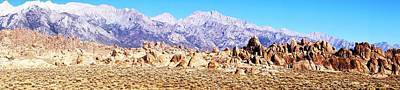 Photograph - Alabama Hills Panorama by Michael Courtney