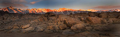 Alabama Hills Sunrise Art Print