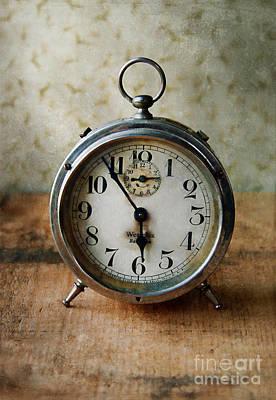 Alarm Clock Art Print by Jill Battaglia