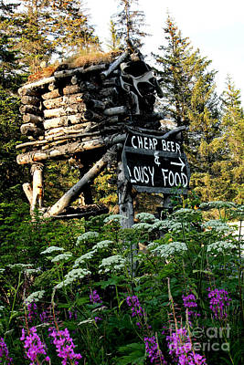 Devils Claw Photograph - Alaska Advertising by Kathy  White
