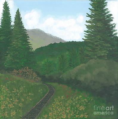 Painting - Alaska by Billinda Brandli DeVillez
