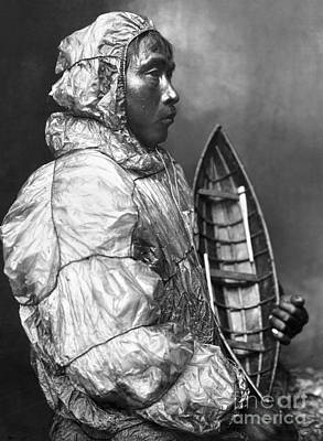 Photograph - Alaska: Eskimo by Granger