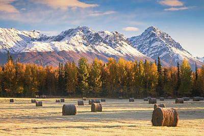 Alaska Farming Art Print by Alaska Photography