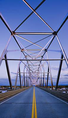 Alaska Native Veterans Honor Bridge Art Print by Yves Marcoux
