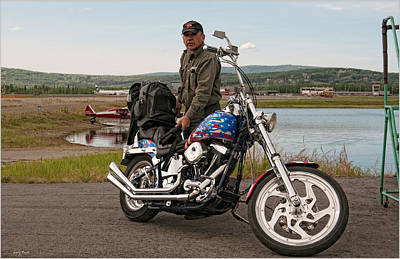 Photograph - Alaska Park Service Pilot by Gary Rose