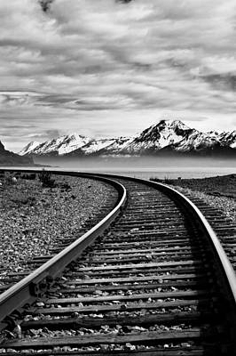 Photograph - Alaska Railroad by Jason Smith