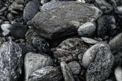 Photograph - Alaska River Rocks by Gary Rose