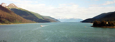 Photograph - Alaskan Boatride by C Sitton
