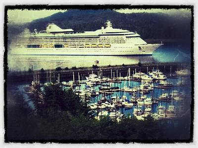 Photograph - Alaskan Cruise by Ches Black