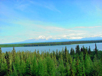 Photograph - Alaskan Lake by Helen Haw