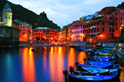 Photograph - Alba-vernazza by John Galbo