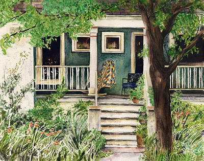 Painting - Albany Park House by Paula Nathan