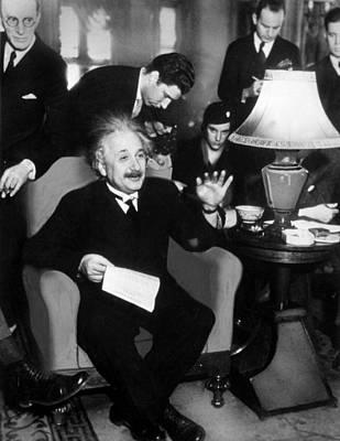 Albert Einstein, 1934 Art Print