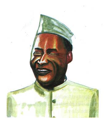 Albert John Luthuli Art Print by Emmanuel Baliyanga