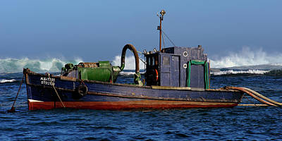 Best Stock Photograph - Albetros. Diamond Dredger by Jaco Kriek