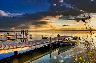 Photograph - Albufera After The Rain. Valencia. Spain by Juan Carlos Ferro Duque