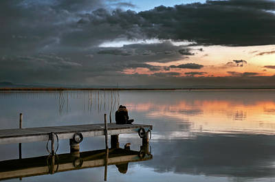 Photograph - Albufera. Couple. Valencia. Spain by Juan Carlos Ferro Duque