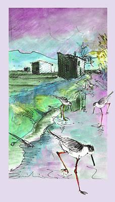 Painting - Albufera De Valencia 14 by Miki De Goodaboom