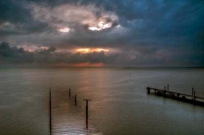 Photograph - Albufera Finally The Rains. Valencia. Spain by Juan Carlos Ferro Duque