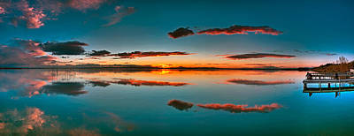 Photograph - Albufera Panoramic View. Spain by Juan Carlos Ferro Duque