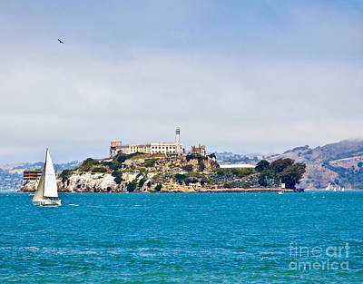 Photograph - Alcatraz - San Francisco by John Waclo