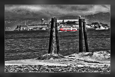Photograph - Alcatraz And Red And White Fleet by Blake Richards