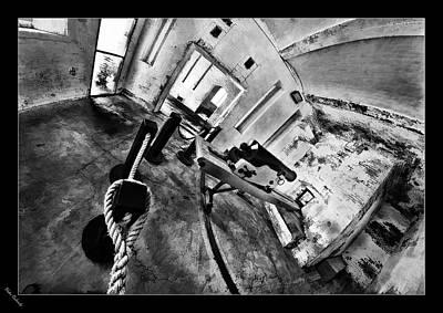 Photograph - Alcatraz Canon Room by Blake Richards