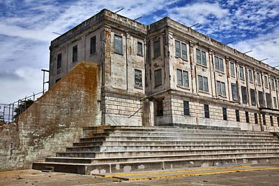 Alcatraz Photograph - Alcatraz Cellhouse  by Garry Gay
