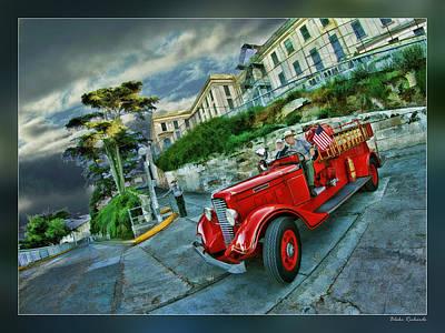Photograph - Alcatraz Fire Department by Blake Richards