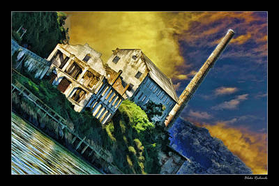 Photograph - Alcatraz Guards Quaters by Blake Richards