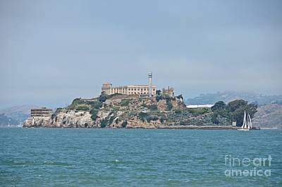 Photograph - Alcatraz Island by Cassie Marie Photography