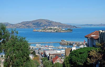 Alcatraz Prison Photograph - Alcatraz Island by Twenty Two North Photography