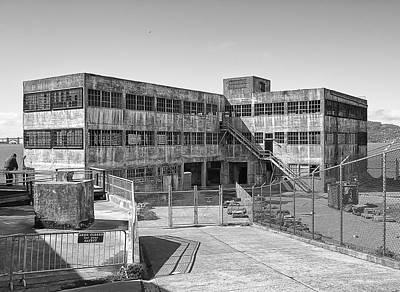Alcatraz Photograph - Alcatraz Model Industries Building by Daniel Hagerman