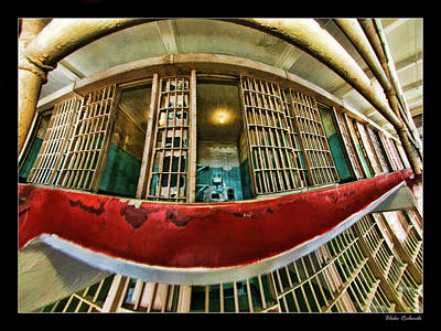 Photograph - Alcatraz Open Cell by Blake Richards