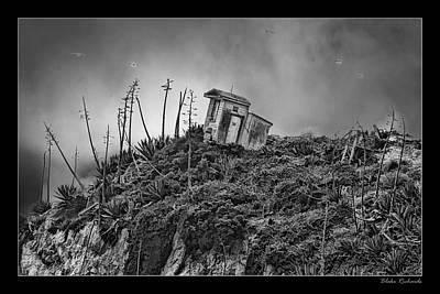 Photograph - Alcatraz Out House by Blake Richards
