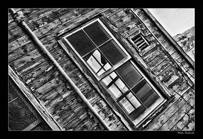 Photograph - Alcatraz Windows by Blake Richards