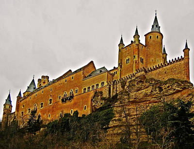 Photograph - Alcazar De Segovia - Spain by Juergen Weiss