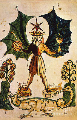 Photograph - Alchemy, 16th Century by Granger