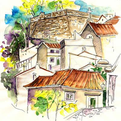 Alcoutim In Portugal 04 Art Print by Miki De Goodaboom