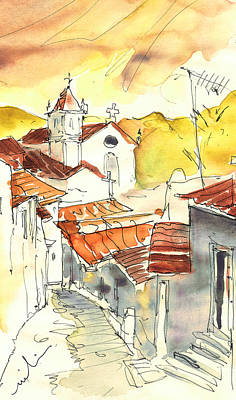 Painting - Alcoutim In Portugal 06 by Miki De Goodaboom