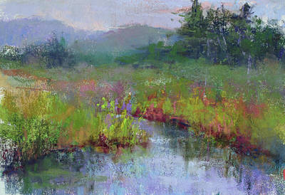 Alder Meadow Morning Art Print