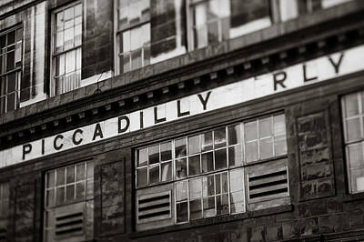 Aldwych Tube Station Art Print by Charlotte Moss