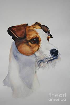 Painting - Alert by Susan Herber