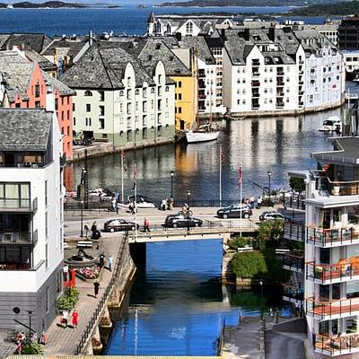 Landscapes Wall Art - Photograph - Alesund by Luisa Azzolini