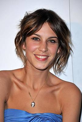 Alexa Chung Photograph - Alexa Chung At Arrivals For The Whitney by Everett