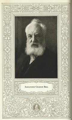 Alexander Graham Bell, British Inventor Art Print