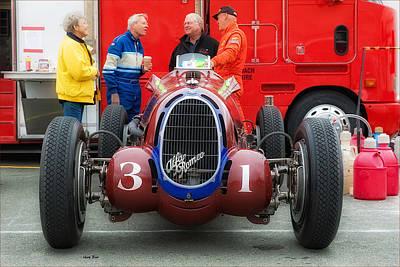 Photograph - Alfa Romeo - 2 by Gary Rose