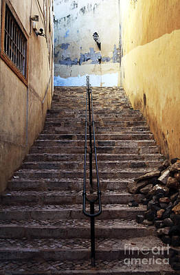 Photograph - Alfama Steps by John Rizzuto