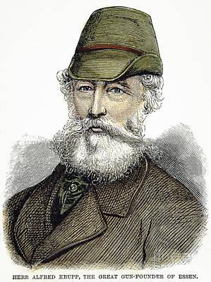 Alfred Krupp (1812-1887) Art Print by Granger