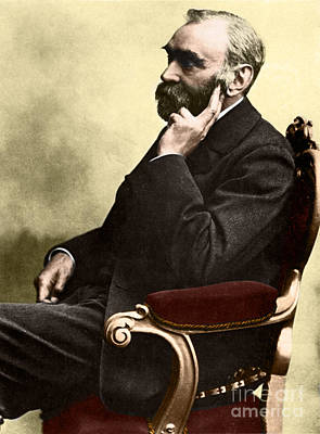 World Peace Photograph - Alfred Nobel, Swedish Chemist by Science Source